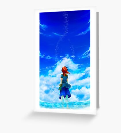 Chrono Cross: Skyward Greeting Card