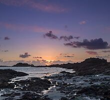 Sunset on guernsey  by chris2766