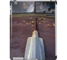 Rusty old car iPad Case/Skin