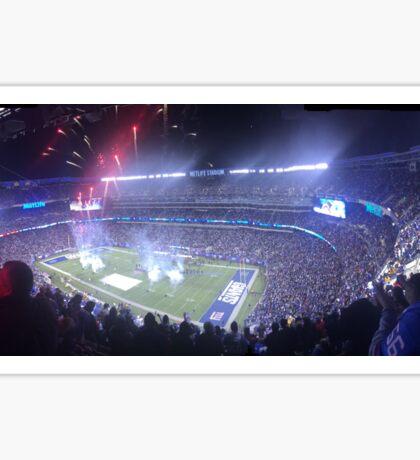 Fireworks overlooking Giants Stadium Sticker