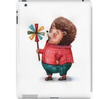 Hedgehog and windmill iPad Case/Skin