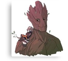 Guardian of the galaxy 8 Canvas Print
