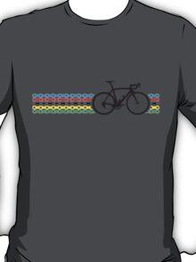 Bike Stripes World Champion (Chain) T-Shirt