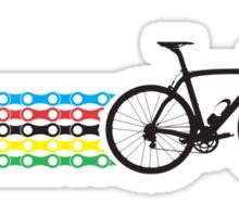 Bike Stripes World Champion (Chain) Sticker