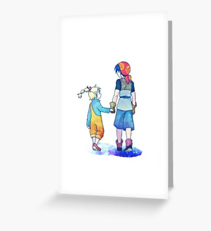 Chrono Cross: Leading Greeting Card