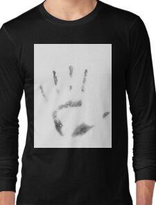 Human Handprint Long Sleeve T-Shirt