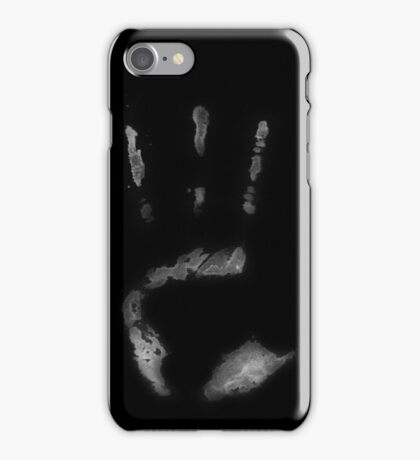 Inverted Human Handprint iPhone Case/Skin