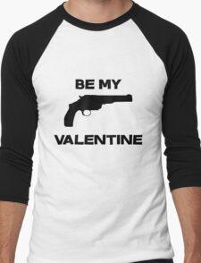 Be my valentine Men's Baseball ¾ T-Shirt
