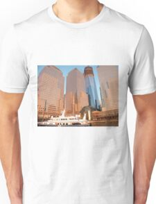 World Financial Center, Winter Garden, World Trade Center, Sunset View, New York  Unisex T-Shirt