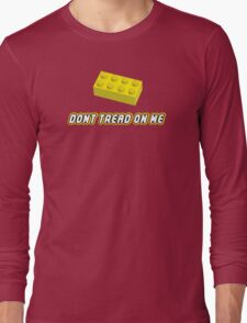 Don't Tread On Me Block Long Sleeve T-Shirt