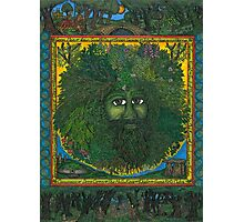 The Ledgend of The Greenman Photographic Print