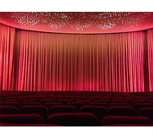 The Old Cinema Screen. Photographic Print