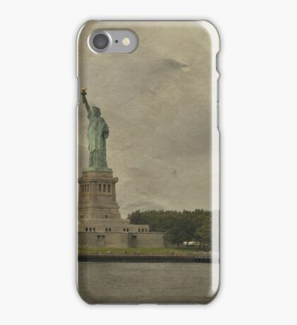 Liberty Island iPhone Case/Skin