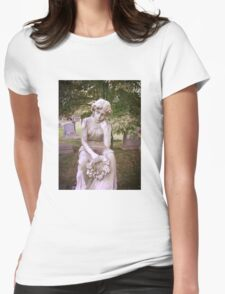 Greenwood Cemetery Memorial Womens Fitted T-Shirt