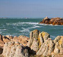 Coastal scene on guernsey by chris2766