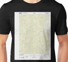USGS TOPO Map California CA Willow Creek 20120229 TM geo Unisex T-Shirt