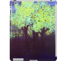 Port Dahlia Shades of Green iPad Case/Skin