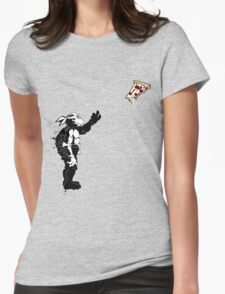 I WANT PIZZA Womens Fitted T-Shirt