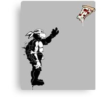 I WANT PIZZA Canvas Print