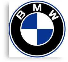 BMW logo Canvas Print