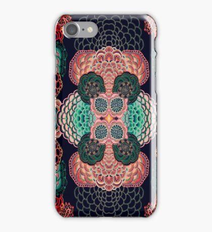 Intricate mendala pattern art iPhone Case/Skin