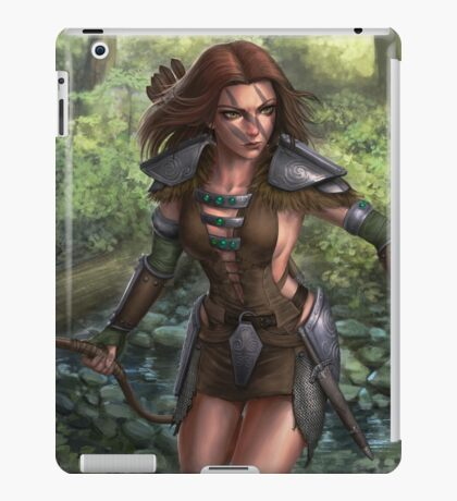 Aela the huntress iPad Case/Skin