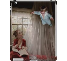 Think of Happy Things, and Your Heart Will Fly on Wings iPad Case/Skin