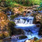 Waterfall 2 by Smudgers Art