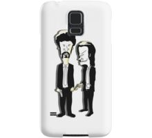 Beavis and Butthead as Jules and Vincent in Pulp Fiction Samsung Galaxy Case/Skin