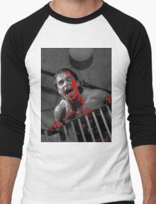 American Psycho Stairway Men's Baseball ¾ T-Shirt
