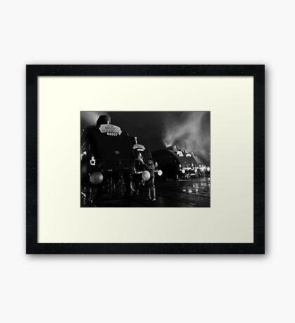 The Great Gathering  Framed Print
