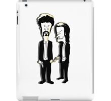 Beavis and Butthead as Jules and Vincent in Pulp Fiction iPad Case/Skin