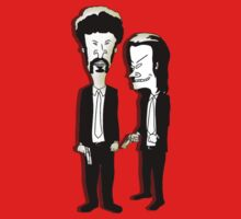 Beavis and Butthead as Jules and Vincent in Pulp Fiction by gilbertop