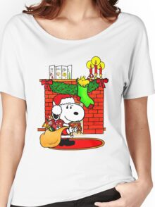 Snoopy Women's Relaxed Fit T-Shirt