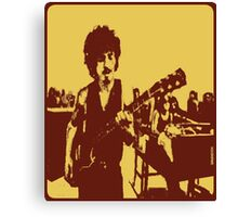Santana at Woodstock Canvas Print