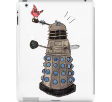 Cardinal vs Dalek iPad Case/Skin