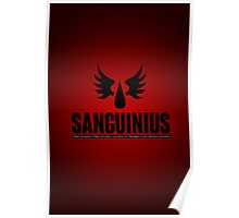 Sanguinius - Blood Angels - Damaged Poster