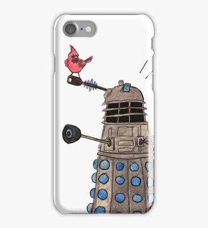 Cardinal vs Dalek iPhone Case/Skin