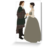 Jamie & Claire Fraser I - Outlander Greeting Card