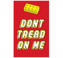 Don't Tread On Me Block Photographic Print