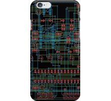 Circuit Design 1 iPhone Case/Skin