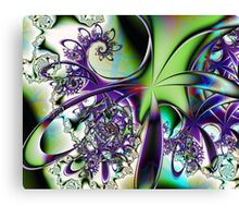 Cartoon Swirls Canvas Print