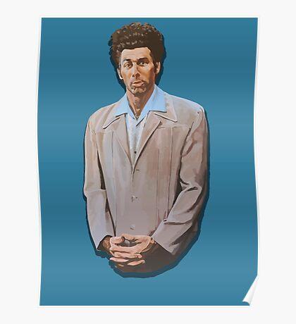 Kramer painting from Seinfeld Poster
