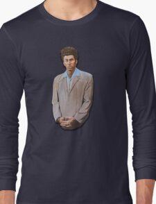 Kramer painting from Seinfeld Long Sleeve T-Shirt