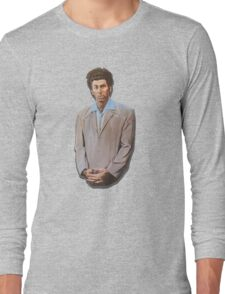 Kramer painting from Seinfeld Long Sleeve T-Shirt