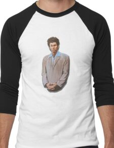 Kramer painting from Seinfeld Men's Baseball ¾ T-Shirt