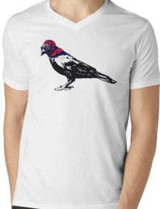 Here's To You Mrs. Raven Mens V-Neck T-Shirt