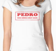 Pedro: Make America Great Again! Women's Fitted Scoop T-Shirt