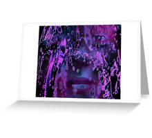 Lavender Tears Greeting Card