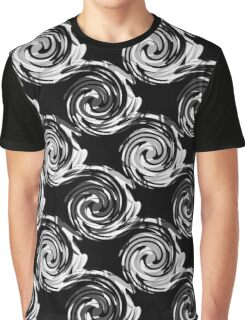 Abstract black and white pattern . Graphic T-Shirt